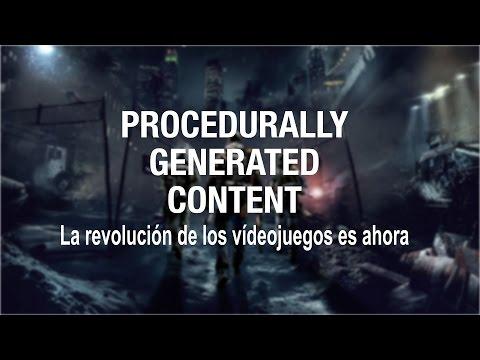 La revolución de los vídeojuegos es ahora: Procedurally Generated Content
