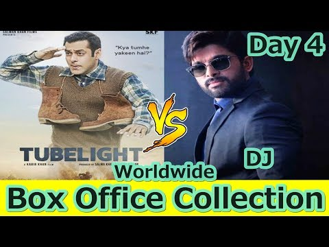 Tubelight VS DJ Worldwide Box Office Collection Day 4