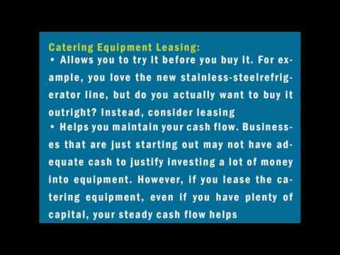 Catering Equipment Leasing