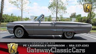 1964 Ford Thunderbird Convertible Stock# 714-FTL