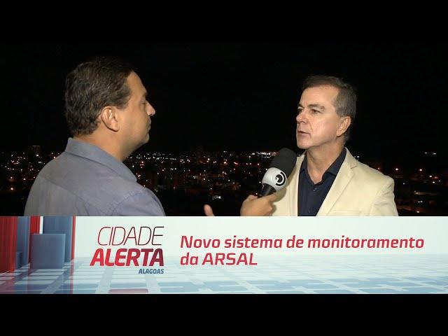 Novo sistema de monitoramento da ARSAL será lançado mês que vem