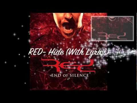 RED - Hide (With Lyrics)