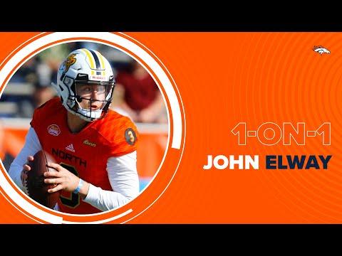 Senior Bowl Gave Broncos Head Start On Drew Lock | John Elway 1-on-1 With Steve Atwater