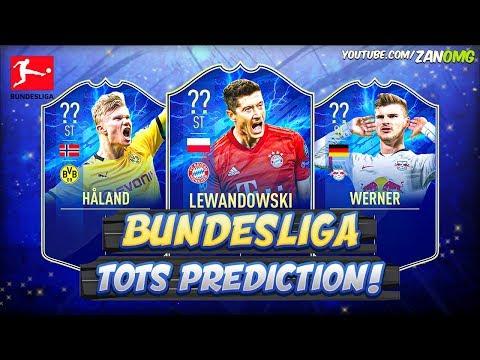 FIFA 20 | BUNDESLIGA TOTS PREDICTION!! 😱🔥 | FT. HÅLAND, LEWANDOWSKI, WERNER...