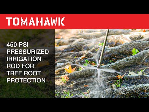 Tomahawk Irrigation Rods: Best Choice for Root Protection