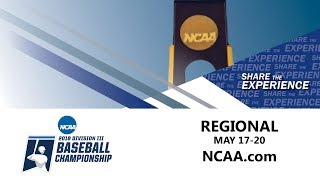 NCAA DIII Baseball Regional - Game 6 Press Conference