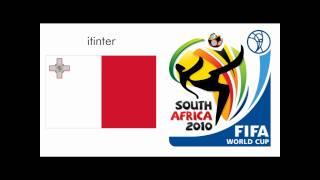 Fifa World Cup 2010 Waving Flag Maltese (malta) Version