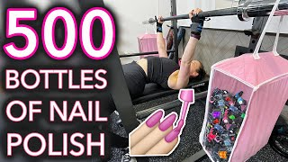 How Many Bottles of Nail Polish Can I Lift?