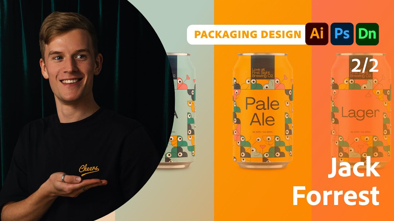 Packaging and Branding Design with Jack Forrest - 2 of 2