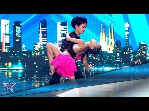 Estas NIÑAS CHINAS Bailan SALSA Como PROFESIONALES | Audiciones 7 | Got Talent España 5 (2019)