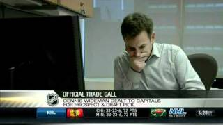 Official trade call: Wideman to DC