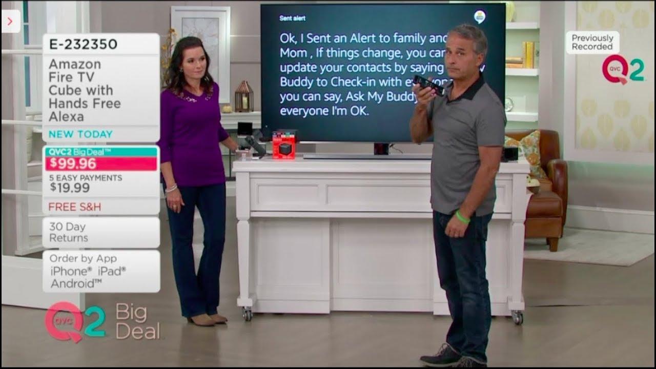 Ask My Buddy as seen on QVC with Bret Hamilton and Nancy Hornback - Amazon  Alexa skill Fire TV Cube