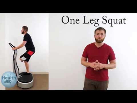 Vibration Plate Lower Body Workout  - GForce Vibration (Video 5)