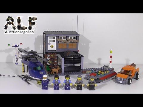 Lego City 60009 Helicopter Arrest / Polizei Hubschrauber & Räuberversteck - Lego Speed Build Review