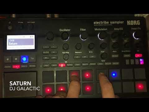 DJ Galactic - Saturn   (Original Mix) live jam with Korg ESX2