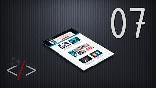 Создание сайта на HTML5 и CSS3. Урок 7