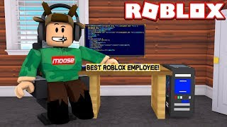 MY NEW JOB!!! *I'M WORKING FOR ROBLOX*