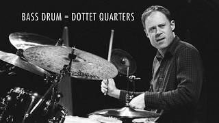 Bill Stewart's bass drum ostinato