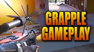 Advanced Warfare GRAPPLING HOOK Gameplay! Exo Grapple Mode Playlist - Ascendence DLC