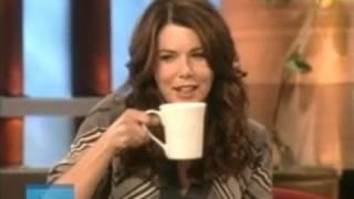 Lauren Graham and Matthew Perry on Ellen - Highlights