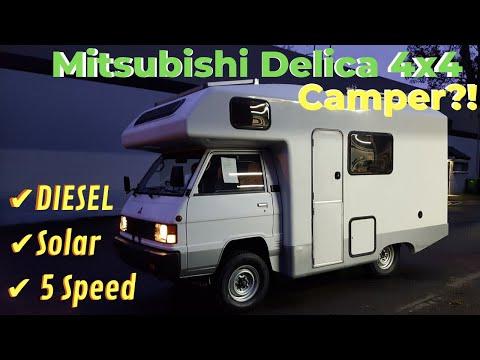 Solar, Off Grid 4x4 Mitsubishi Delica Diesel Camper By OttoEx