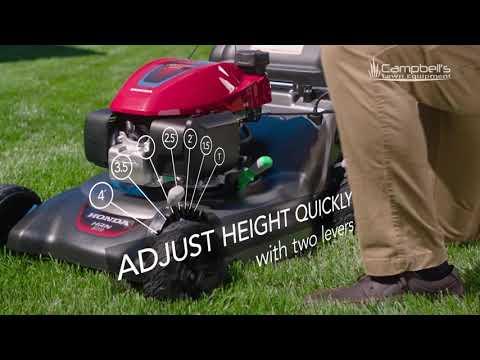 Honda HRN Mower Campbells Equipment Forest Park YouTube