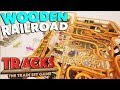 FAVORITE GAME EVER, Wooden Block Railroad | Airports, Train Stunts, Crashes & More | Tracks Gameplay