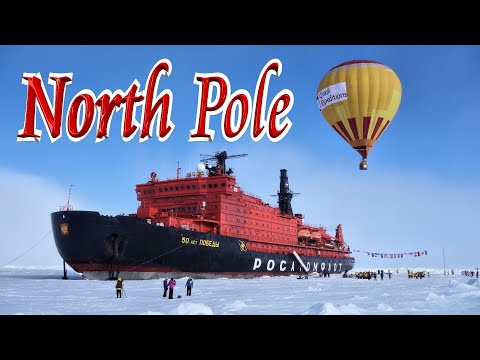 🎅 Voyage to North Pole on Nuclear Icebreaker '50 Years of Victory'/50 Лет Победы