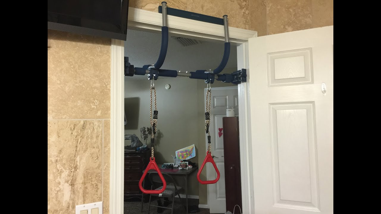 Gorilla Gym Door Swing Unboxing And Set Up Family Fun
