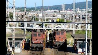 Zugverkehr - Szenen am Rangierbahnhof thumbnail