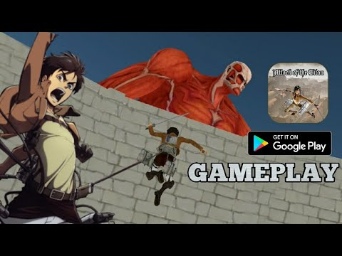 Attack Of The Titan: Survey Corps Gameplay (Android CLONE)