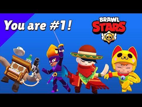 All New Skins Winning \u0026 Losing Animations - Brawl Stars Season 6 #GoldarmGang
