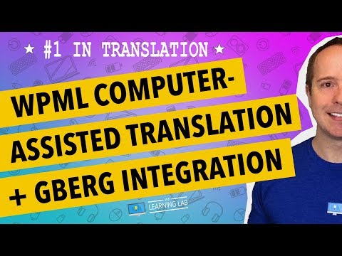 WPML Computer Assisted Translation & Gutenberg Integration - 동영상