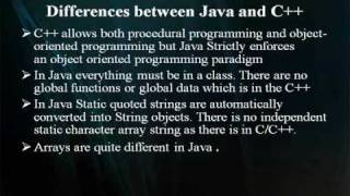 Java vs C++ part-01