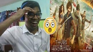 Thugs Of Hindostan - Official Trailer Amitabh Bachchan Aamir Katrina Fatima Reaction & Review