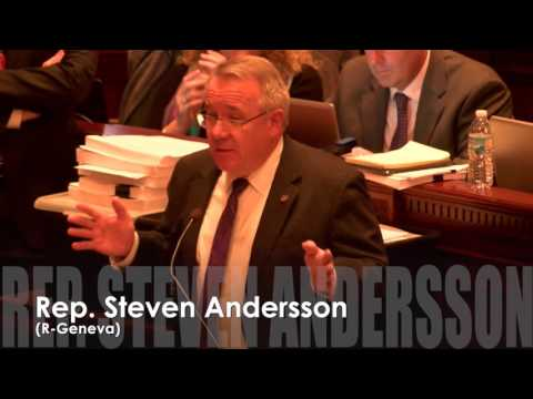 Rep Andersson: Return power of Illinois House to all 118 member