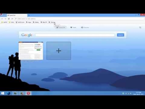 How to Import Other Web Browsers Bookmarks in Opera