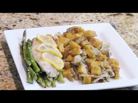 Parchment Wrapped Cod Easy Week Night Meal With Linda's Pantry