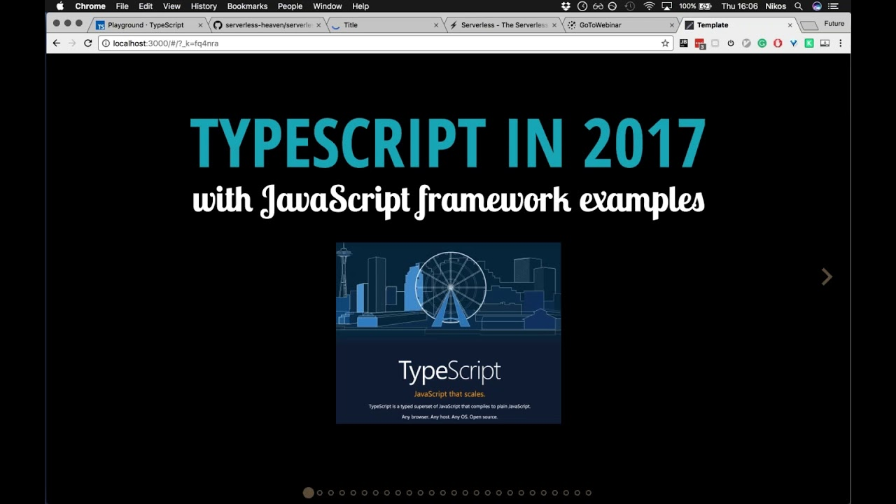 Introduction to TypeScript and AWS lambda functions with TypeScript