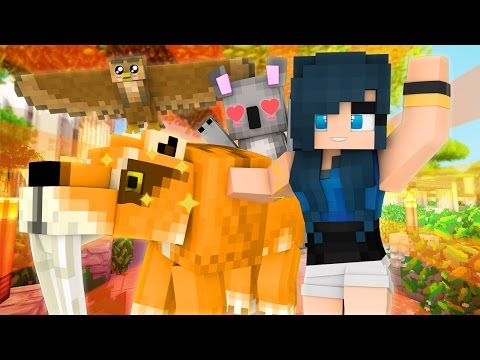 Minecraft Zoo - ZOO DISASTER WITH FRIENDS! (Minecraft Roleplay)