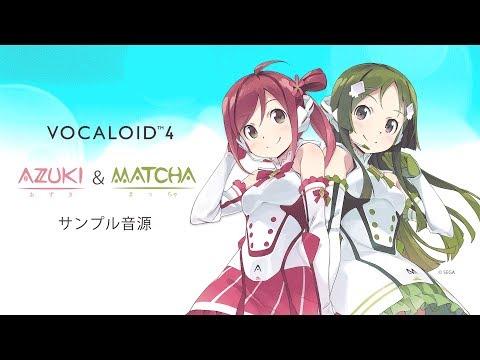 VOCALOID4 Library AZUKI & MATCHA Demo