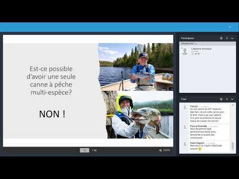 Techniques de Pêche. Conférences de Catherine Perreault