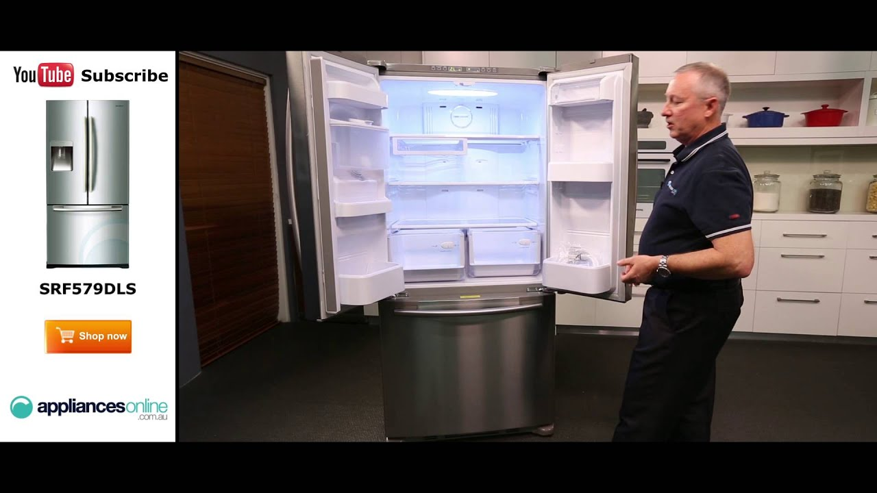 579l samsung 3 door fridge srf579dls reviewed by product expert 579l samsung 3 door fridge srf579dls reviewed by product expert appliances online rubansaba