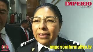 Maribel Cervantes Secretaria De Seguridad Edomex Comparecencia Ante Diputados Mexiquenses