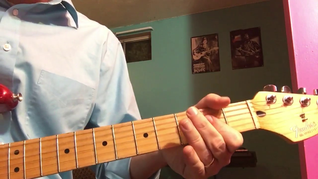 """Learn to Play """"Caught Up In You"""" by 15 Special   easy guitar lesson"""