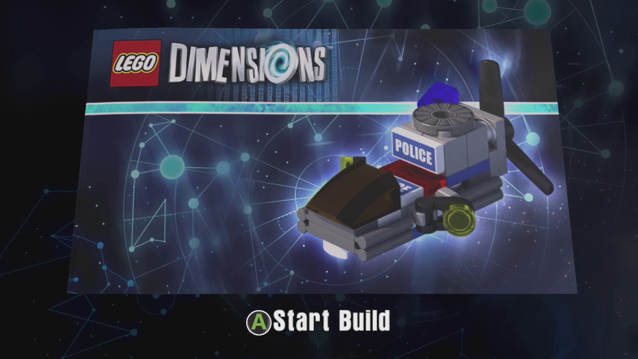 lego dimensions 71266 lego city chase mccain police. Black Bedroom Furniture Sets. Home Design Ideas