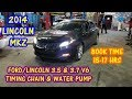 Timing Chain Removal & Cam Locking Tool Demonstration 2013-2018 Lincoln MKZ