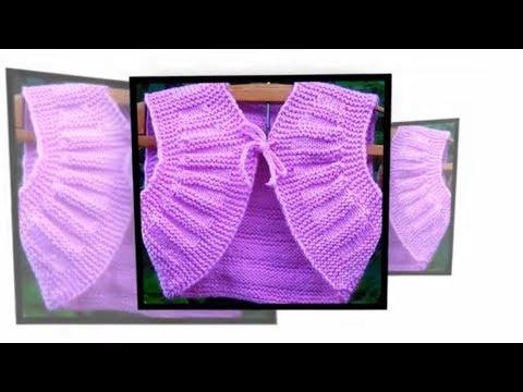 #Болеро для девочки 1 год. Вязание спицами для начинающих