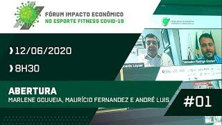 Abertura MARLENE GOUVEIA, MAURÍCIO FERNANDEZ E ANDRÉ LUIS