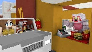 FNAF Monster School McDonalds Work Day Minecraft Animation